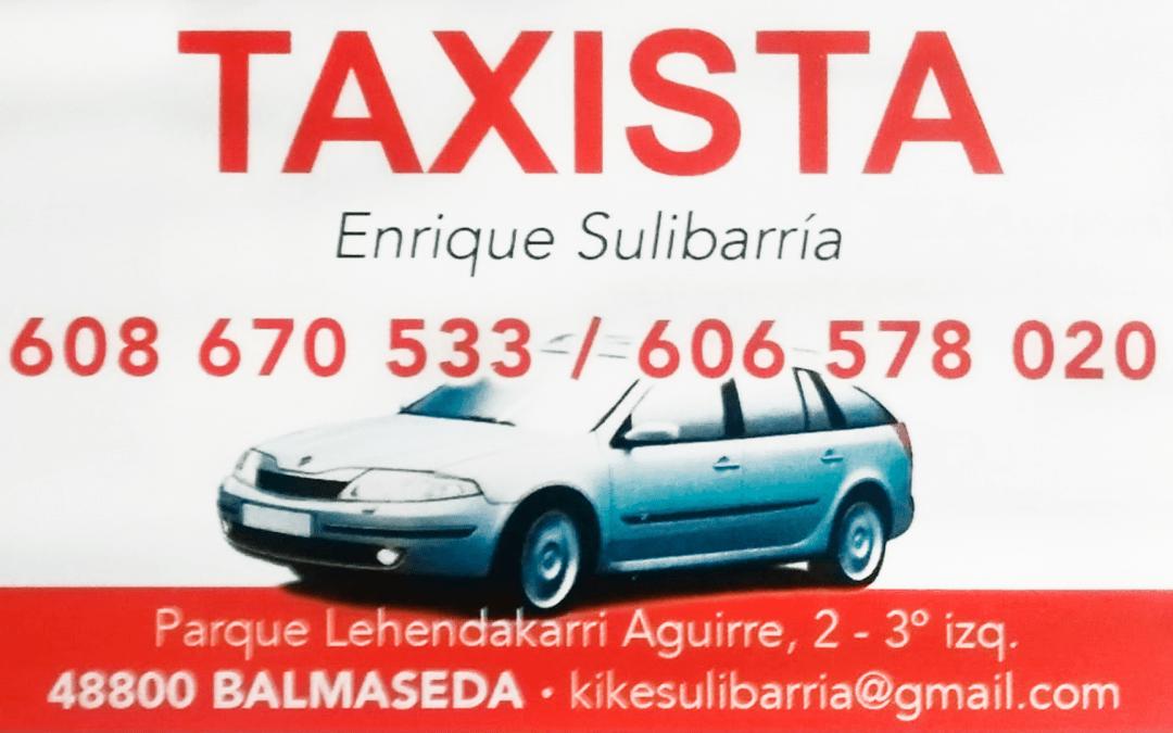Taxi – Enrique Sulibarria