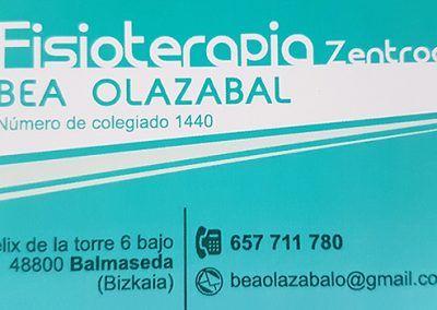 Fisioterapia Zentroa Bea Olazábal