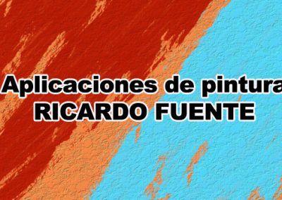 Aplicaciones de pintura Ricardo Fuente