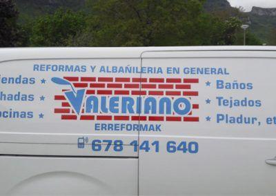 Reformas y albañilería en general Valeriano
